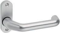 Dieckmann Rahmentür-Drückerlochteil 1308/0800 Alu. F1 ov. 8mm fest/drehb. - 1391/0800/01