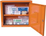 Söhngen Verbandschrank Juniorsafe B490Xh420Xt200Ca.mm Orange 1-Türig 1St./Ve - 503019