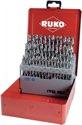 Ruko Spiralbohrersatz Din338 Typ N D.1-5,9mmx0,1mm Hss 50Tlg.Metallkassette - 214217