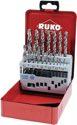 Ruko Spiralbohrersatz Din338 Typ N D.1-10X0,5mm Hss 19Tlg.Metallkassette - 214214