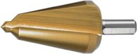 Ruko Blechschälbohrer Bohrber.16-30,5mm Hss Tin Gesamt-L.76mm Z.2 - 101003T
