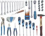 Gedore Werkzeugkoffer 49tlg.m.Check-Tool-Einlage universal TOURING Ku.Koffer - 6600780