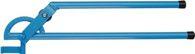Gedore Rohrbiegezange f.Stahl-u.Edelstahlrohre 10mm Rolle blau lackiert r=43mm b.90Grad - 4564890