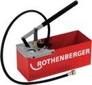 Rothenberger Prüfpumpe TP25 0-25 bar Doppelventilsystem (Twin Valve) - 60250