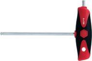 Wiha Schraubendreher 6KT-Kugelkopf SW 10mm Klingen-L.200mm Klinge matt Chrom - 28377