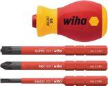 Wiha Bithalter VDE isoliert 58 mm Schlitz/PH/PZD/TX/ plusminus (PZD) 41230 - 41230