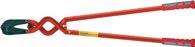 VBW Ecktiefschneider 1000mm rot lack. Schneidleistung bis 48 HRc - 434025