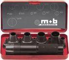 Peddinghaus Patentlocheisensatz 11Tlg. 3-20mm I.Blechkasten - 8004209001