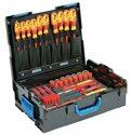 Gedore Werkzeugsortiment 53tlg.f.die Elektroinstallation in L-BOXX 1100-1094 VDE HYBRID - 2979063
