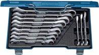Gedore Knarrenringmaulschlüsselsatz 7 R-012 12Tlg. Sw 8-19mm Cv. I.Stahlkassette - 2297442