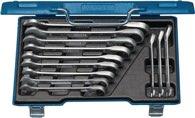 Gedore Knarrenringmaulschlüsselsatz 7 Ur-012 12Tlg. Sw8-19mm Cv. Stahlkassette - 2297418
