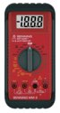 Benning Multimeter 0,1 mV-1000 V DC 0,1 mV-750V AC m.Batterie/Messleitungen/Tasche MM 2 - MM II   044028