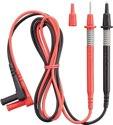 Benning Messleitungsssatz f.Buchse 2mm 2tlg. rot/sw - 44146