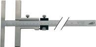 Helios-Preisser Anreißmessschieber 160mm m. FE Anschlag-L. 135mm H.PREISSER - 344501