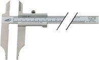 Helios-Preisser Werkstattmessschieber DIN862 300mm m.Spitzen Schnabel-L.90mm PREISSER - 234503