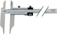 Helios-Preisser Werkstattmessschieber DIN862 300mm m.Spitzen u.FE Schnabel-L.90mm PREISSER - 235503