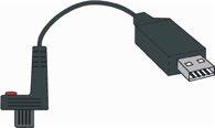 Helios-Preisser Datenkabel DIGI-MET USB f. Data-Variable L.2 m H.PREISSER - 1998720