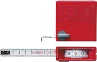 BMI  Taschenrollbandmaß L.2M In/Out B.13mm Weiß M.Stopptaste  Genauigk.Ii - 40424  1030