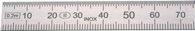 Helios-Preisser Stahlmaßstab L.1000mm STA biegsam Teilung B =mm/1/2mm H.PREISSER - 460229
