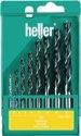 Heller CV Holzspiralbohrersatz 8tlg.D.3,4,5,6,7,8,9,10mm CV-Stahl - 18736