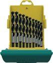 Heller CV Holzspiralbohrersatz 10tlg.D.3,4,5,6,7,8,9,10,11,12mm Maxxbox CV-Stahl - 24646