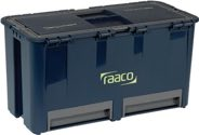 raaco Werkzeugkoffer B.474xT.239xH.250mm 6Fächer/2Schubl.+Träger Trgf.30kg a.PP - 136587