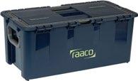 raaco Werkzeugkoffer B.540xT.300xH.230mm 7Fächer/Trennw./Träger Trgf.40kg a.PP - 136594