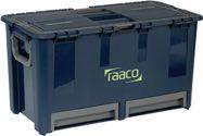 raaco Werkzeugkoffer B.540xT.300xH.295mm 7Fächer/Trennw./2Schubl. Trgf.40kg a.PP - 136600