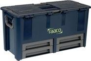raaco Werkzeugkoffer B.620xT.320xH.315mm 10Fächer/Trennw./4Schubl. Trgf.50kg a.PP - 136624