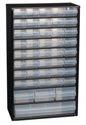 raaco Kleinteilemagazin B.306xT.150xH.510mm 44Schubl. m.Aufhängeloch Stahlgehäuse/PP - 132114  CABINET C 44