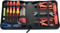 Parat WerkzeugmappeB.480xT.20xH.255mm Industrieleder schwarz25 Schlaufen Reißverschl. - 5650.030-061