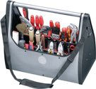 Parat Werkzeugtasche B.495xT.250xH.395mm m.Tragestange silber 2xCP-7Halter D.11mm+26mm - 72000399