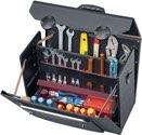 Parat Werkzeugtasche B.460xT.190xH.340mm 33l Rindleder schw. Alu-verstärkt CP-7 Syst. - 18000581