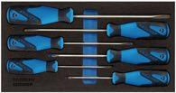 Gedore Werkzeugmodul T.310mmxb.157,5mm 6Tlg. Schraubendreher Schlitz/Pzd - 2309130