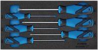 Gedore Werkzeugmodul T.310mmxb.157,5mm 6Tlg. Schraubendreher Tx - 2309157