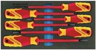 Gedore Werkzeugmodul T.310mmxb.157,5mm 6Tlg. Vde-Schraubendreher Schlitz/Pzd - 2309173