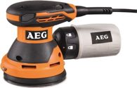 AEG Exzenterschleifer EX 125 ES 125mm 300W 14000-24000min-1 2,4mm - 4935416100