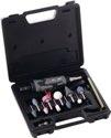Aerotec Stabschleifer-Set Druckluft 22000min-1/Spannzange 3+6mm/10 Schleifstifte - 200656