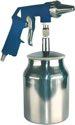 Aerotec Sandstrahlpistole Druckluft ca. 5,4 l/s/6-8bar/Behälter 0,7l/f.Körnung 0,2-0,8mm - 200950