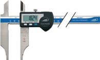 Helios-Preisser Werkstattmessschieber DIN862 DIGI MET® 300mm dig. m. Spitzen H.PREISSER - 1330522