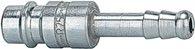 Riegler Einstecktülle Stahl gehärtet, verzinkt, NW 7,2 - NW 7,8 / LW 13 - 107545