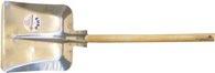 Krumpholz Hallenser Randschaufel Gr. 9 380x380mm Aluminiumblech - 6209