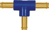 Riegler T-Schlauchverbindungsstutzen, für Schlauch LW 4 mm, Messing/POM - 133411