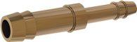Riegler Doppelschlauchtülle reduzierend, für Schlauch LW 6,9 mm, MS - 136274