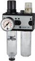 Riegler Wartungseinheit zweiteilig mit Polycarbonatbehälter Gewinde G 1 - 100570