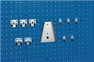Bott Werkzeughaltersortiment 11-Tlg.Verz.F.Lochplatten - 14030064