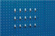 Bott Werkzeughaltersortiment 15-Tlg.Verz.F.Lochplatten - 14031427