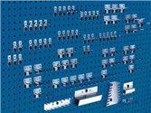 Bott Werkzeughaltersortiment 80-Tlg.Verz.F.Lochplatten - 14031416