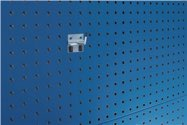 Bott Schräghaken T25Xd.6mm Verz.F.Lochplatten 5St./Btl. - 14001117