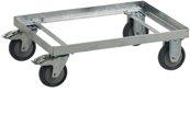 Craemer Fahrgestell Stahl,Verz.Eck.F.Transportbehälter 210L - 8007  1000
